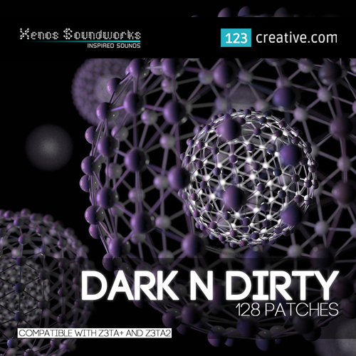 Dark 'n' Dirty patches for Cakewalk Z3ta+ & Z3ta+ 2