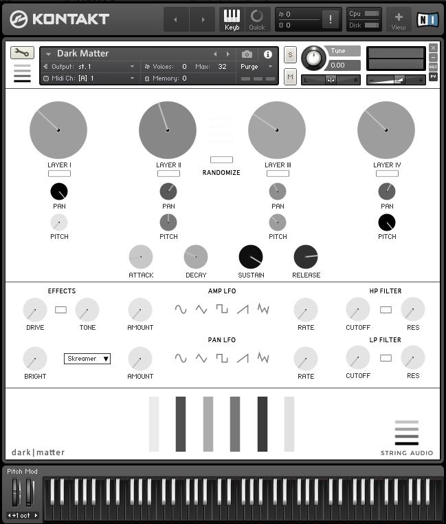 Kvr Dark Matter By String Audio Soundscapes
