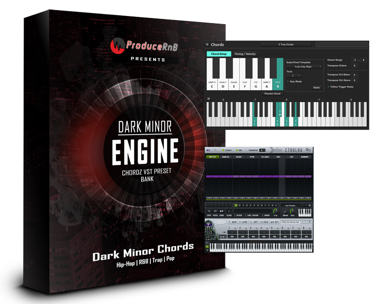 The Dark Minor Chord Engine Presets for Cthulhu and Chordz