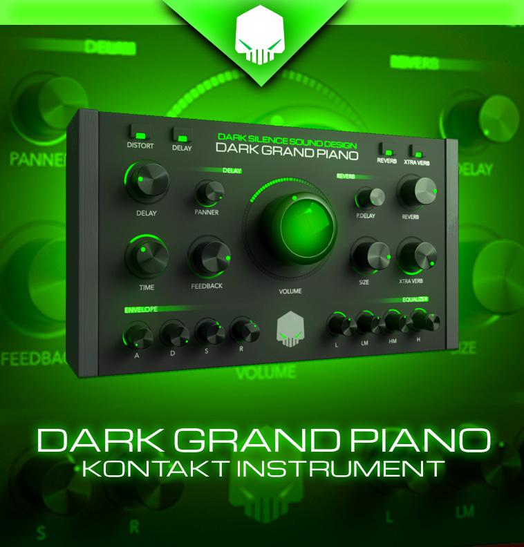 Dark Grand Piano for Kontakt