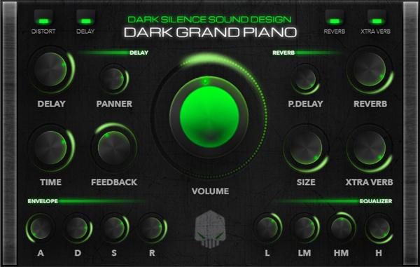 Dark Grand Piano for Native Instruments Kontakt
