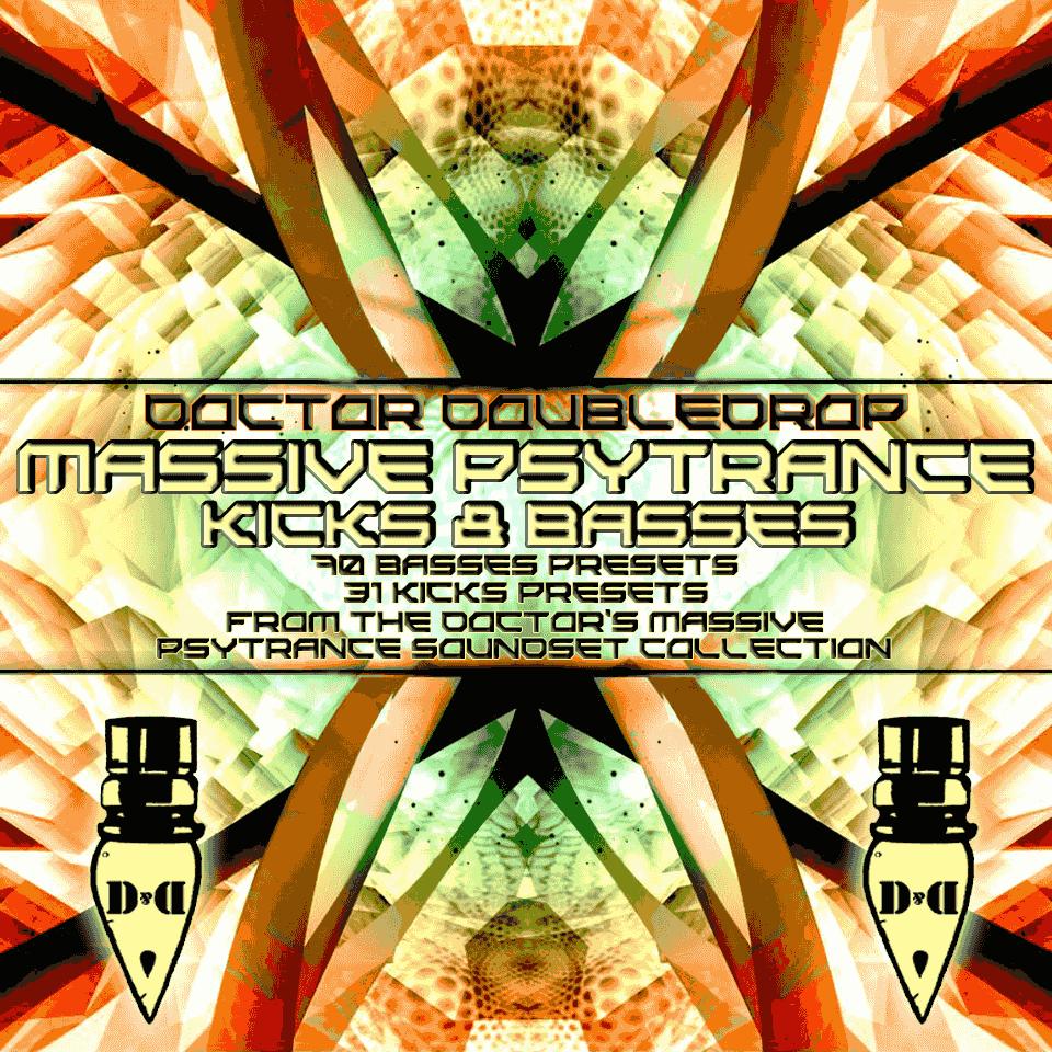 Dr. Doubledrop Massive Psytrance Kicks & Basses