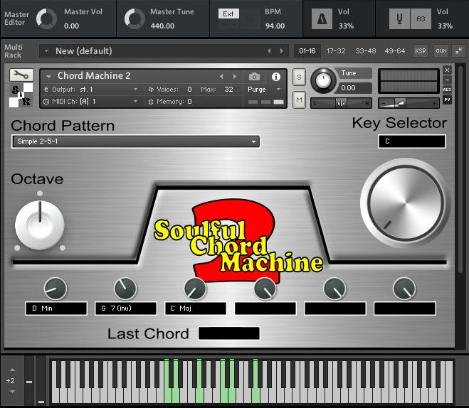 Soulful Chord Machine 2