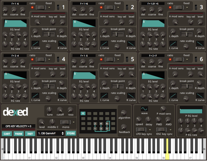 KVR: Dexed by Digital Suburban - FM VST Plugin and Audio