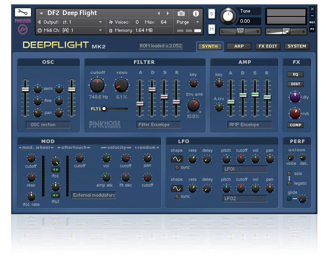 Deepflight 2 Kontakt edition