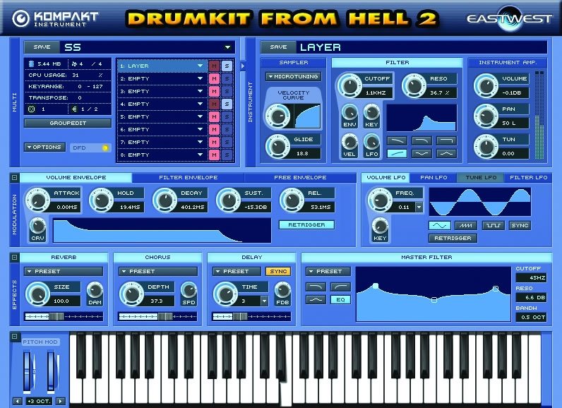 Drumkit From Hell 2