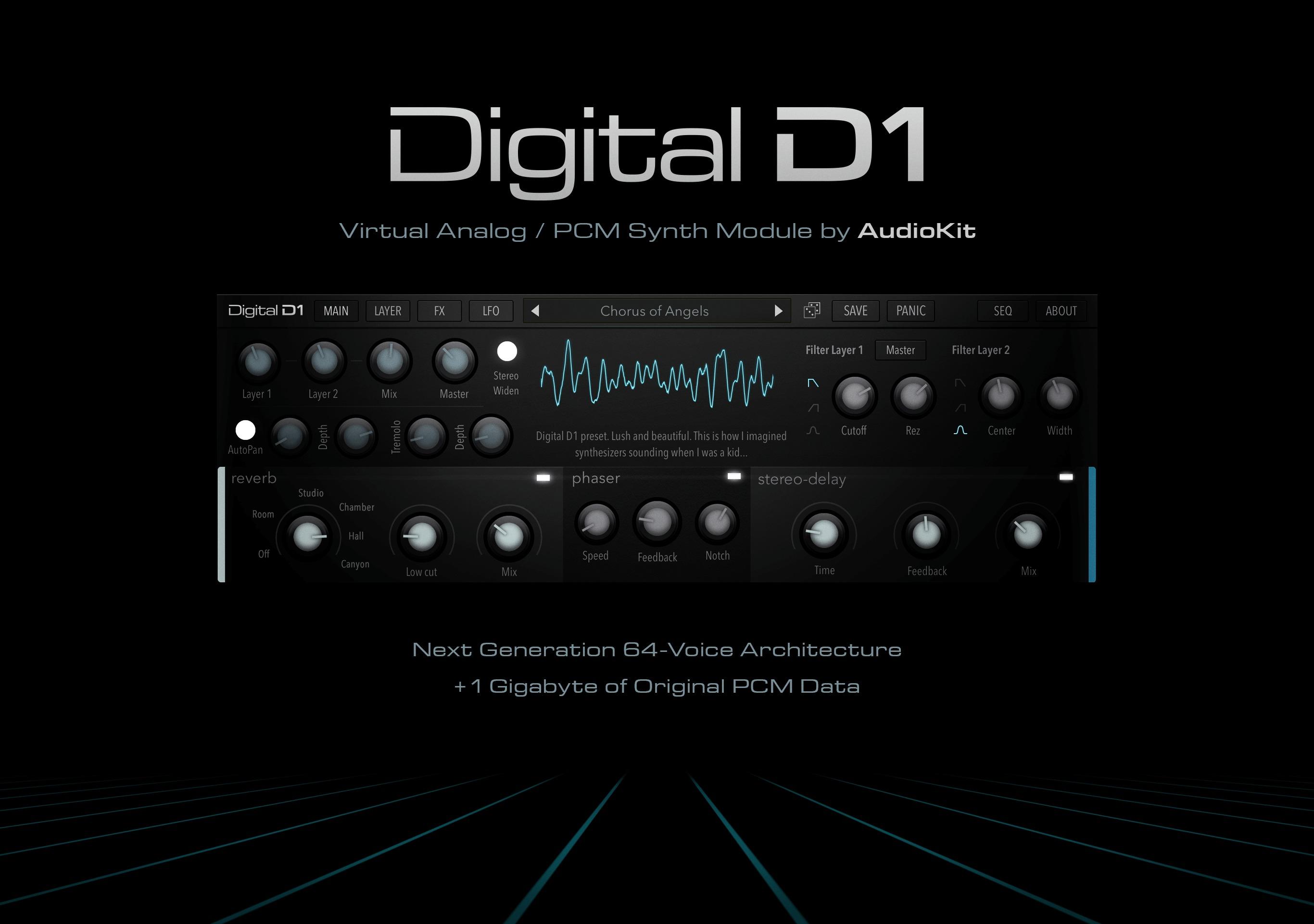 AudioKit Digital D1