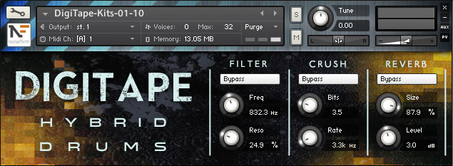 DigiTape Hybrid Drums
