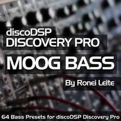 Moog Bass / Discovery Pro Bank