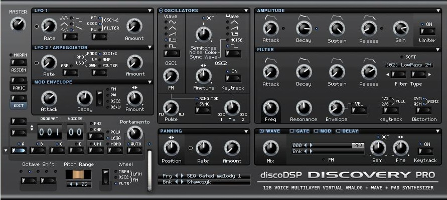 Discovery Pro 6.5 Sound Library