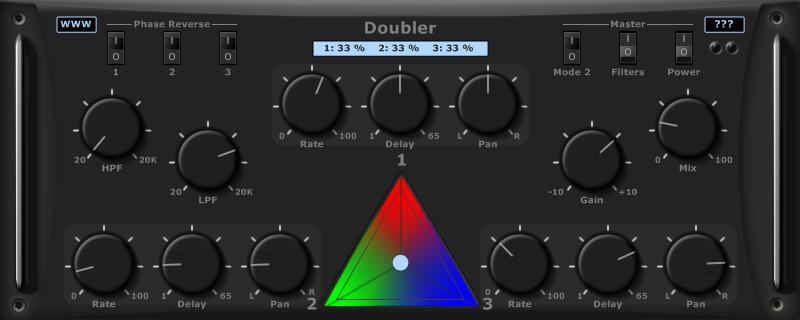 KVR: Doubler by Ourafilmes - Doubler VST Plugin