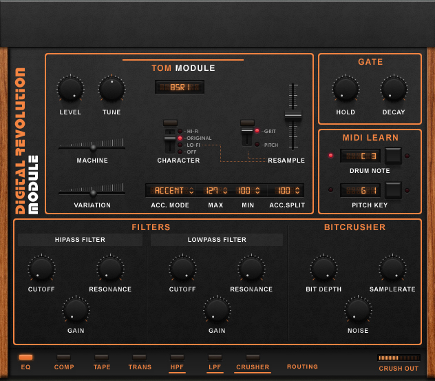 kvr digital revolution by wave alchemy drum machine vst plugin audio units plugin and aax plugin. Black Bedroom Furniture Sets. Home Design Ideas