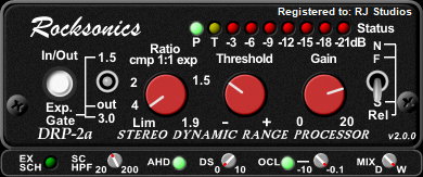 DRP2a mkII - Dynamic Range Processor
