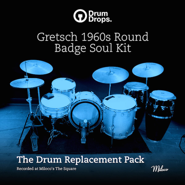 Gretsch 1960s Round Badge Soul Kit - Drum Replacement Pack