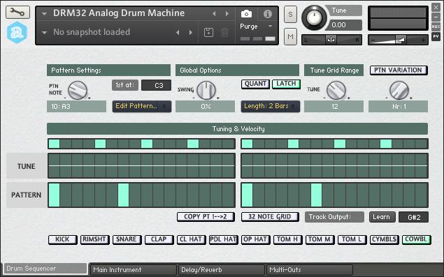 kvr autodafe releases drm32 analog drum machine for kontakt. Black Bedroom Furniture Sets. Home Design Ideas