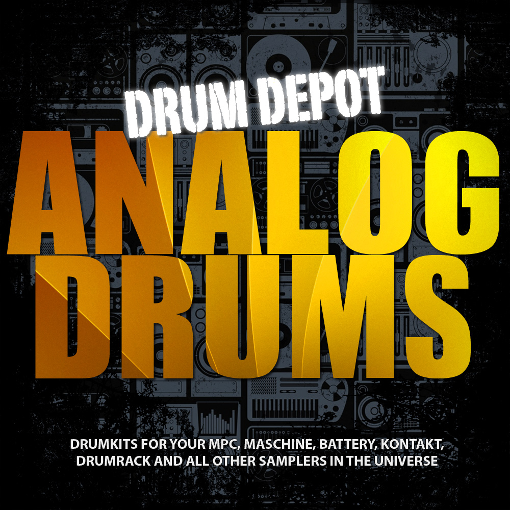 Drum Depot: Analog Drums - Seven drumkits