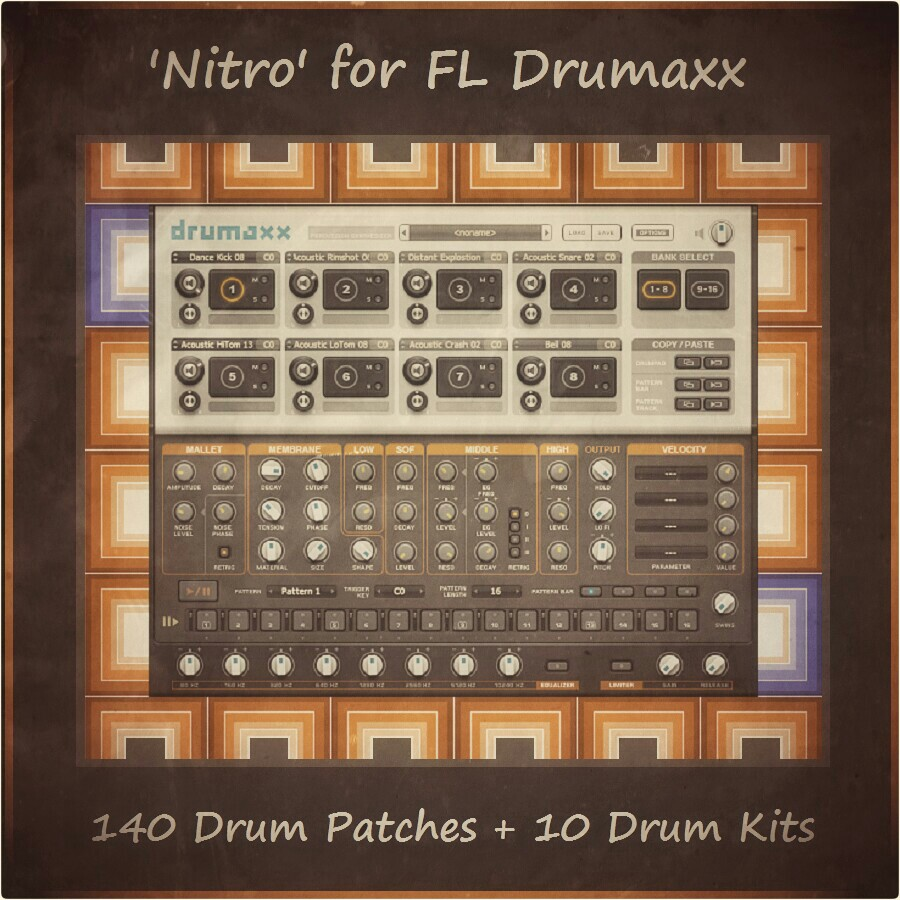 Nitro Soundpack for FL Drumaxx/Drumpad