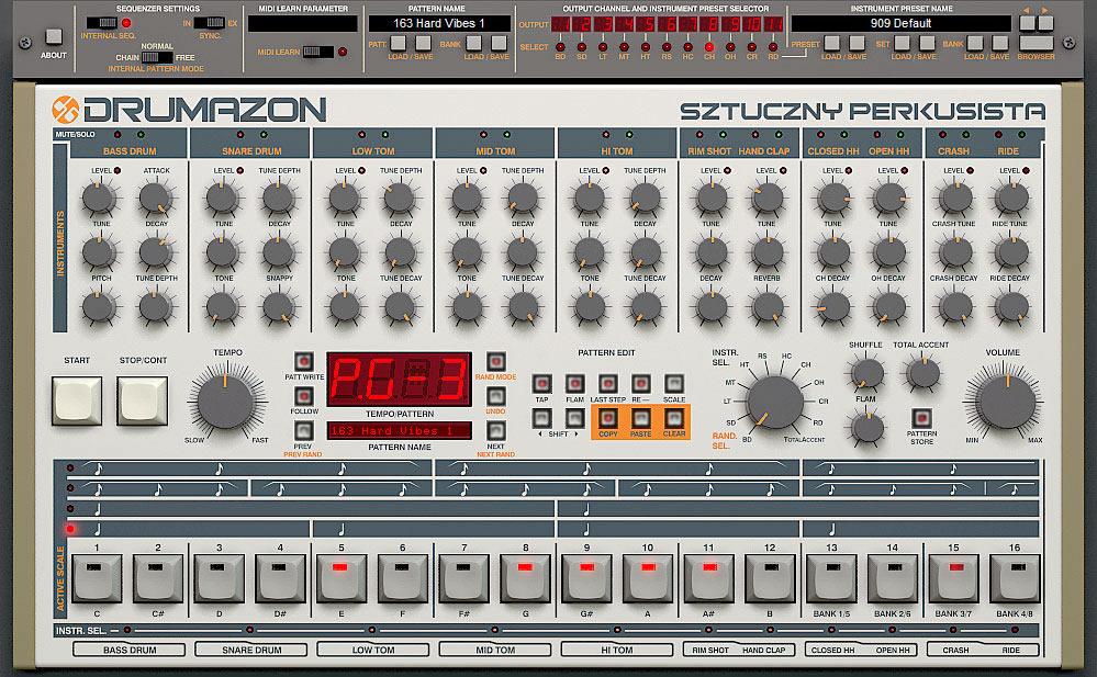 À quoi ressemblent les modules de Reason ? Drumazon