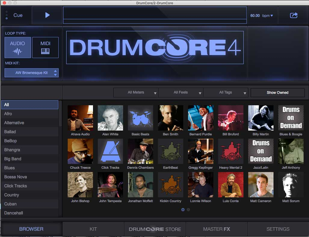 KVR: DrumCore 4 by Sonoma Wire Works - Drum Kits Audio Units