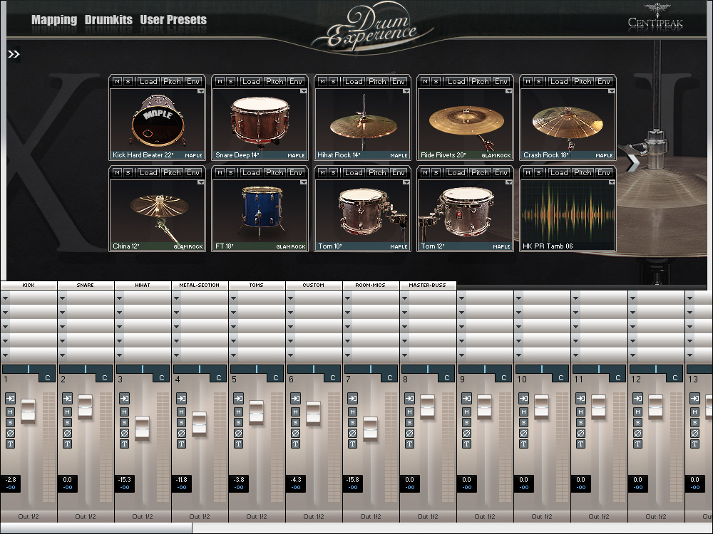 virtual drumm