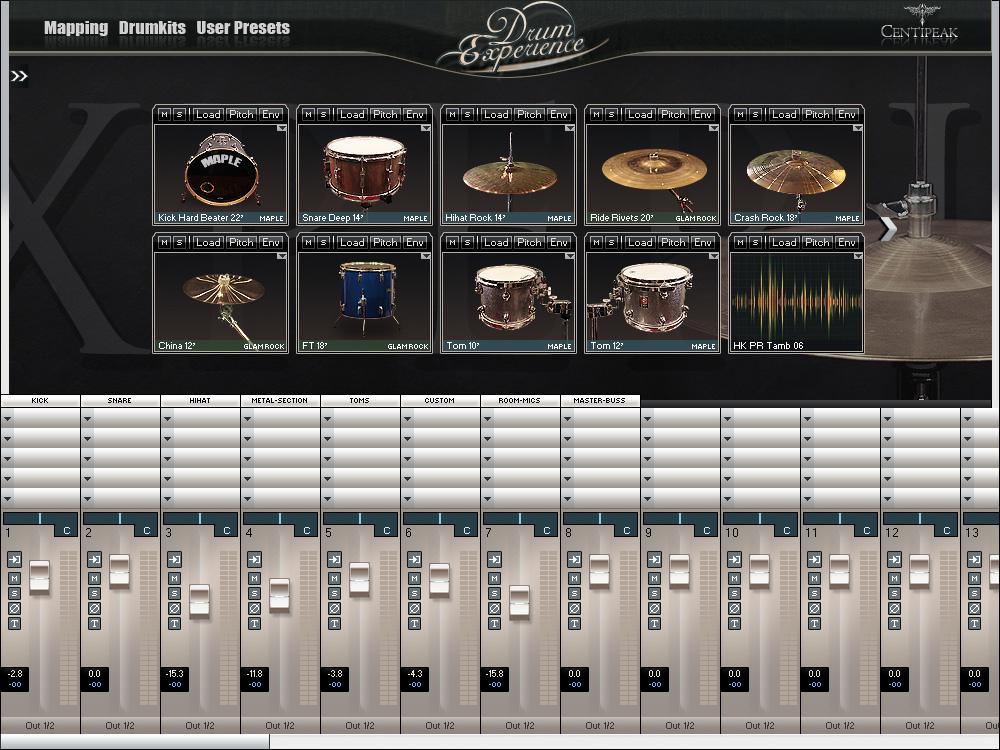 Kvr Drum Experience By Centipeak Drum Sampler Vst