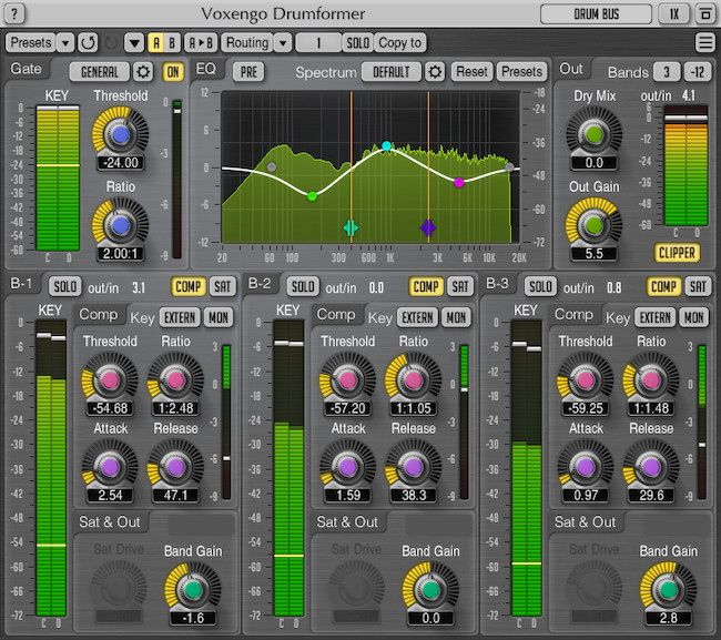 KVR: Voxengo updates Drumformer to v1 5