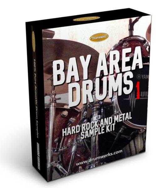 Bay Area 1 Metal Drum Samples   Complete Drum Kit, Cymbals for Modern Metal