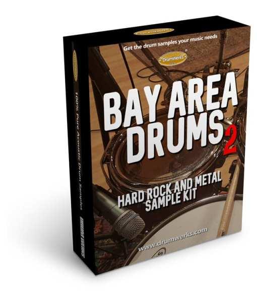 Bay Area 2  | Metal Drum Samples Drumkit