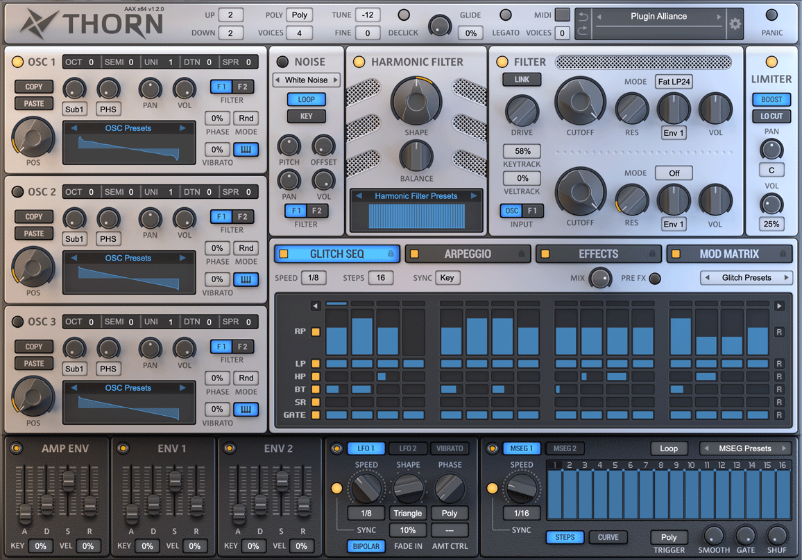 KVR: Thorn by Dmitry Sches - Synth VST Plugin, Audio Units