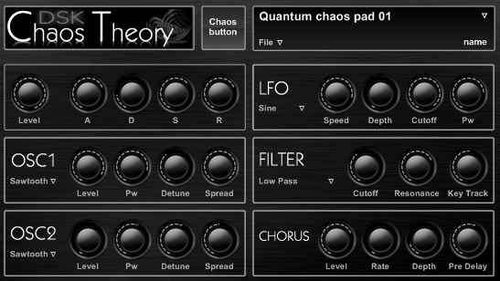 KVR: DSK Chaos Theory by DSK Music - Synth VST Plugin