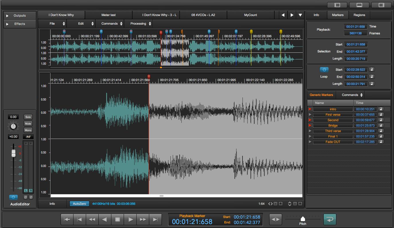 KVR: DSP-Quattro by Stefano Daino - Audio Editor