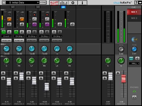 Steinberg releases free dspMixFx iPad app and updates the UR824, UR28M and UR44 audio interfaces