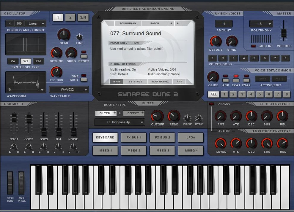 Dune 2 Ambient Sound Library