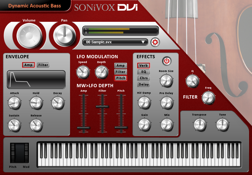 DVI Dynamic Acoustic Bass