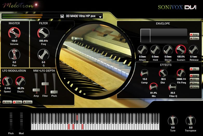 Sonivox twist 2. 3 spectral morphing synthesizer.