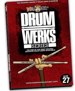 Drum Werks XXVII | Groove Rock Drum Loops
