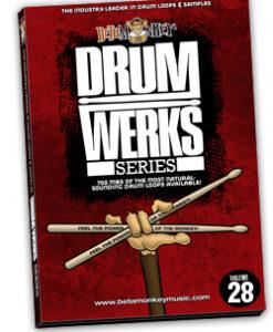 Drum Werks XXVIII | High-Octane Rock Drum Loops