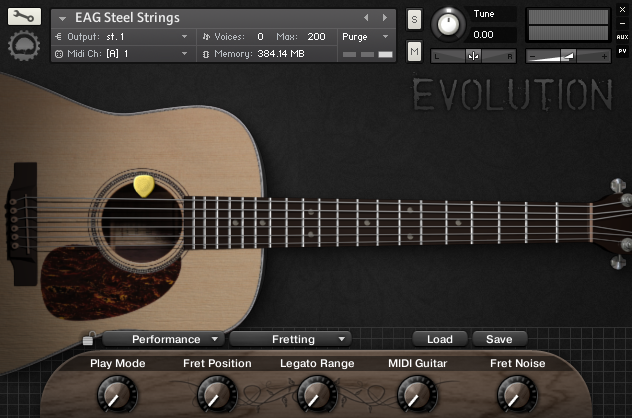 Evolution Acoustic Guitar Steel Strings