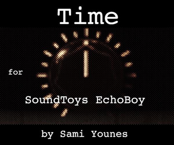 Time for Soundtoys EchoBoy