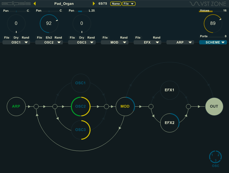 VST Zone releases Eclipsis Hybrid Wavetable Synth for Windows VST (Free)