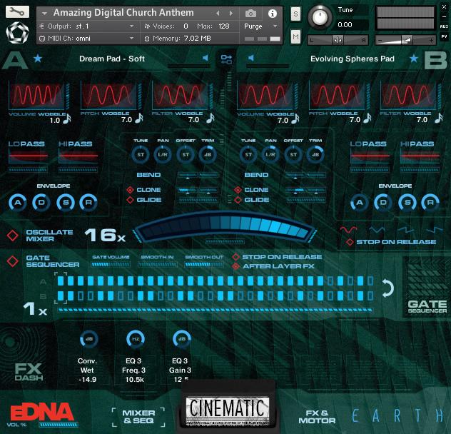 KVR: Spitfire Audio releases eDNA Earth for Kontakt Player
