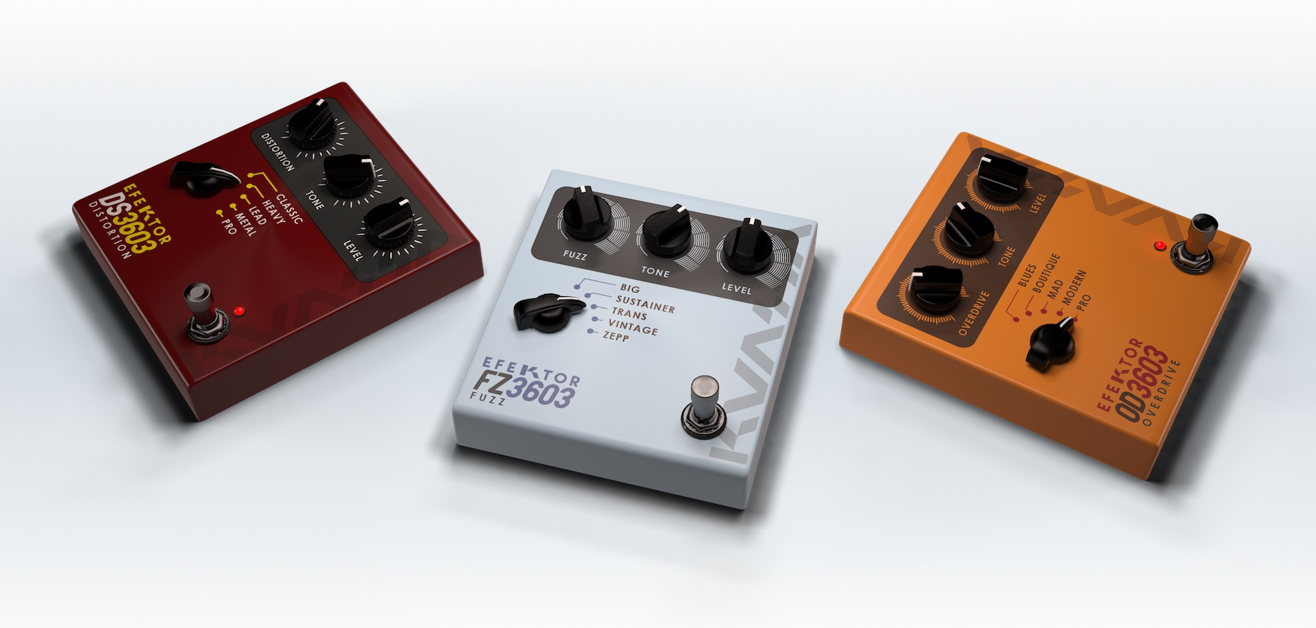 Efektor Distortion Bundle
