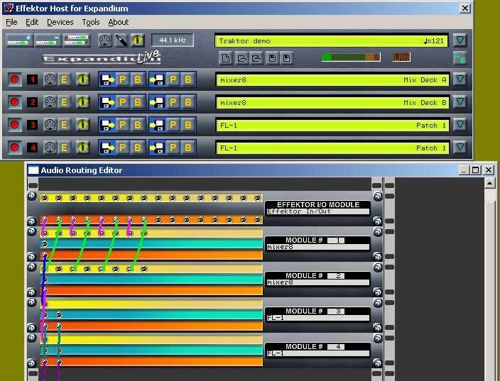 KVR: Effektor by BEB - ASIO/VST Host for External Programs