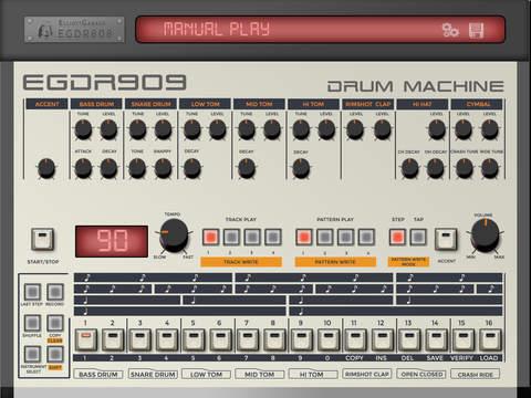 EGDR909 - 909 Drum Machine