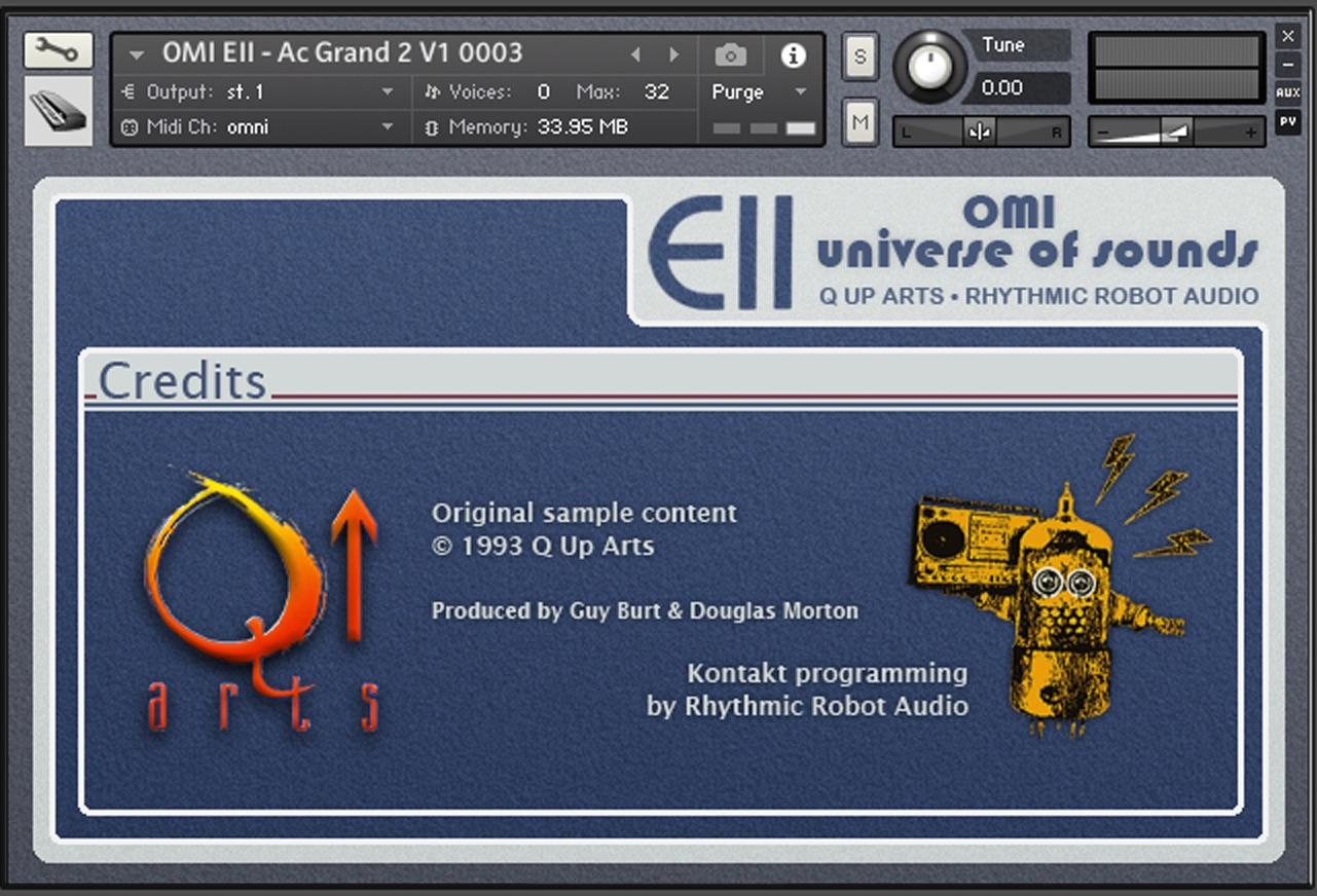 OMI Universe of Sounds V1