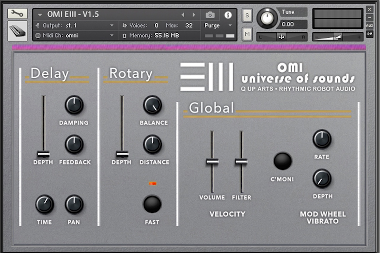 OMI EIII Master Studio Collection V1 Kontakt