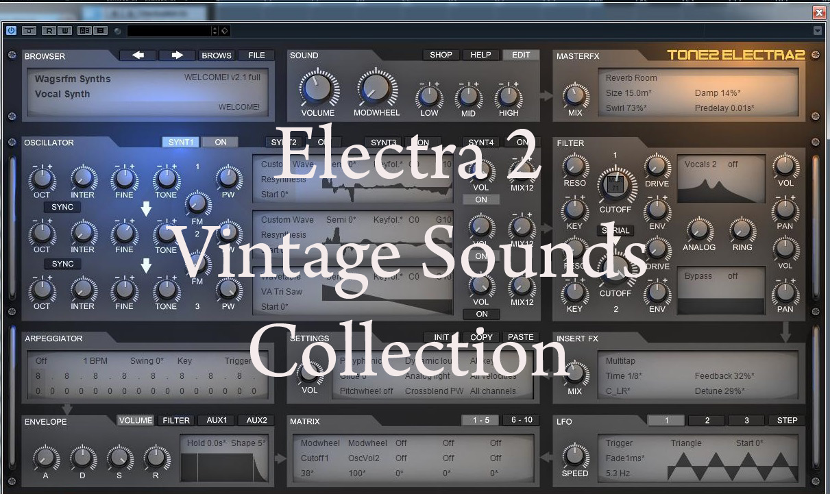 Electra 2 Sound Library