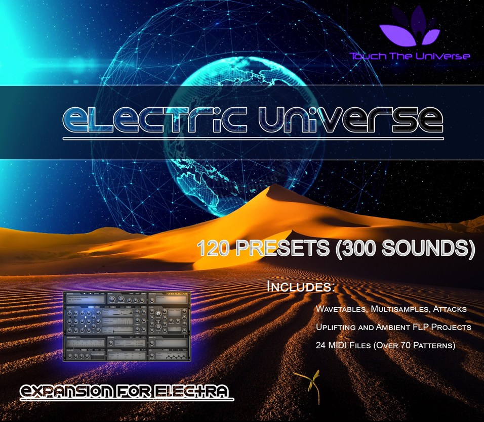 KVR: Touch The Universe releases Electric Universe for Tone
