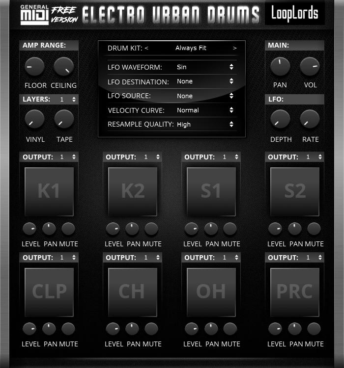 Electro Urban Drums Free Version
