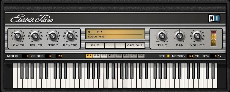 KVR: Elektrik Piano by Native Instruments - Piano / Keys VST